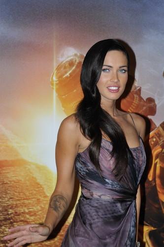 megan fox and shia labeouf transformers 2. Megan Fox et Shia Labeouf au