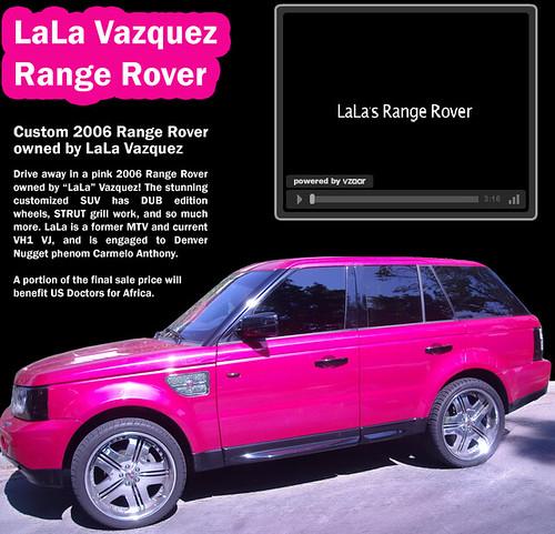 3622924421 e149ce11ee Lala Vazquez and Her Custom Range Rover