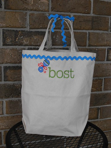 Reusable Personalized Gift Bag