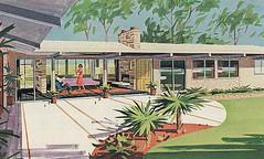 Bethlehem Steel Home 1962 (hmdavid) Tags: home vintage steel ad 1960s bethlehem 1962 artillustration