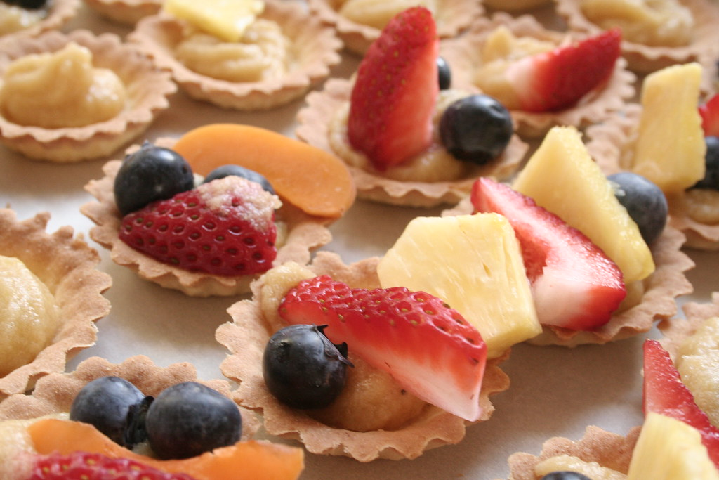 Fruit Tarts Recipe