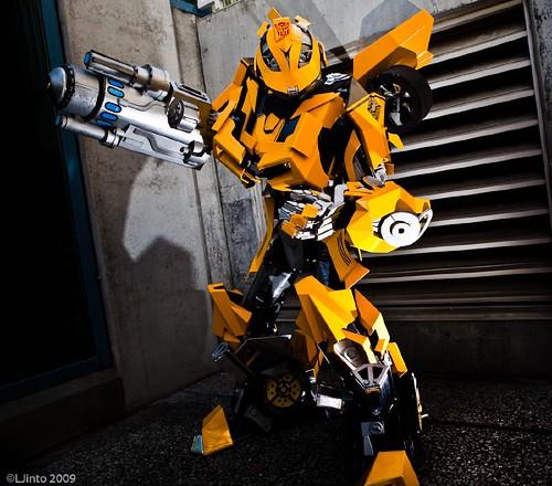 Disfraz de Bumblebee Transformers