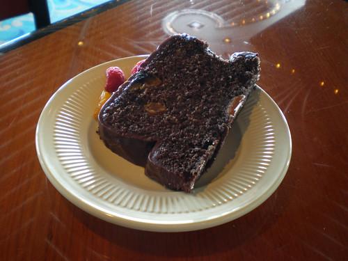 Chocolate Buffet - Chocolate Fruitcake
