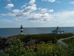 Faros Isla Pancha. Ribadeo (DLMFOTOS) Tags: espaa lighthouse geotagged faro spain galicia lugo ribadeo cantabrico islapancha dlmfoto geo:lat=43556343 geo:lon=7041652