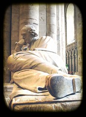 in contemplation of mortality (annette62) Tags: durham cathedral tomb marble