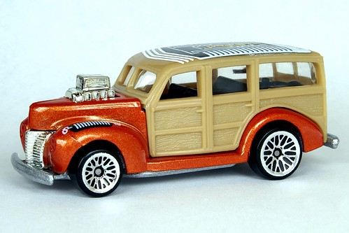 Hot Wheels '40's Woodie - 6352df