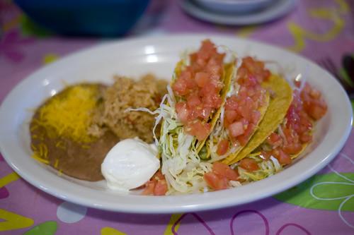Paco's Guacamole Tacos