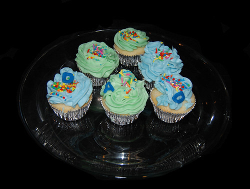 Brendans father day cupcakes