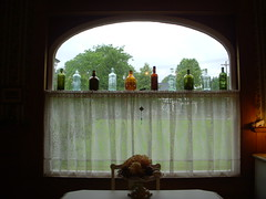 Bottles in Window