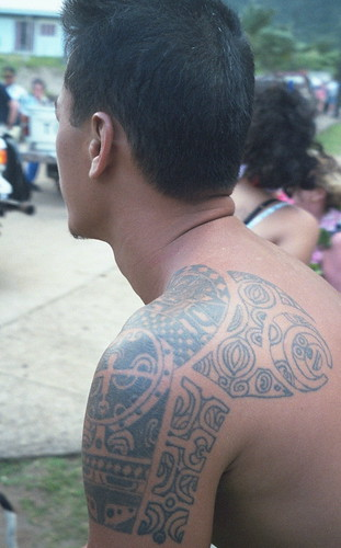 Tattoo, Ua Huka, Marquesas