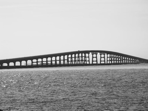 Bonner Bridge, from Pea to Bodie Island.