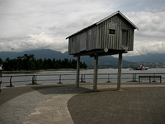 Light Shed (time_one) Tags: canada vancouver bc coalharbour lightshed