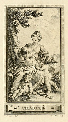 009- Caridad-Iconologie par figures-Gravelot 1791