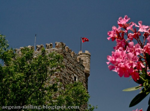 Tower of Bodrum Castle by voyageAnatolia.blogspot.com