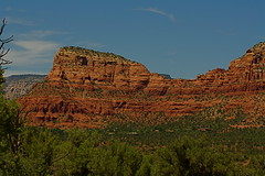 Another impressive rock formation (D.Dorman) Tags: red mountains rock landscape flickr desert sedona getty gettyimages canondigitalrebelxs davedormanphotography
