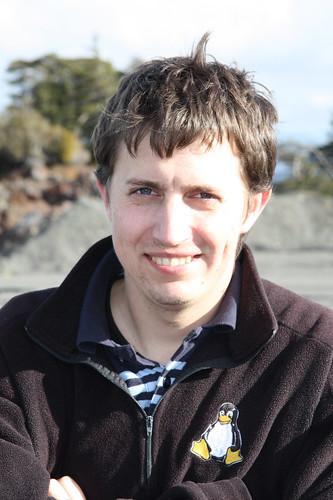 Rob at Mt Ruapehu