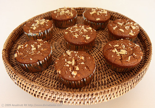 Eggless Buckwheat Banana Muffins