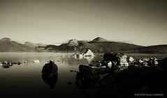 Morgendmmerung (David Hannah) Tags: morning light shadow mountain water island dawn scotland peace stones calm loch moor tones tranquil gloaming lochan rannoch morgendmmerung