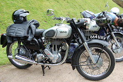 NORTON ES2. 500 CC SINGLE CYLINDER.APPROX 1960. (ronsaunders47) Tags: motorcycles norton motorbikes es2 britishmotorcycles classicmotorcycles