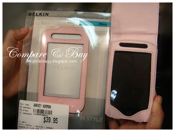 Pink iPod Touch Leather Cover Case