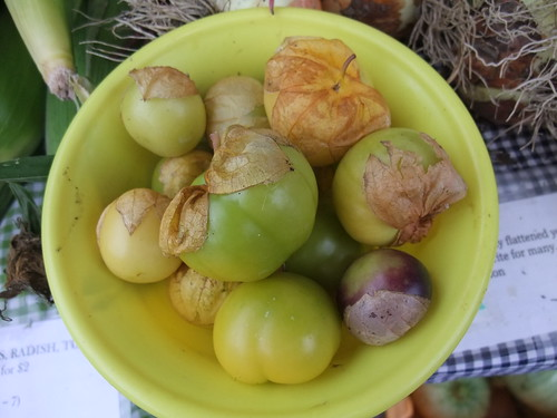 Tomatillos from Honeyrun Farms