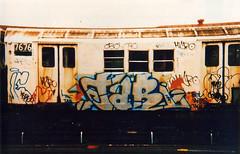 (Laser Burners) Tags: nyc newyorkcity film 35mm graffiti oldschool negative scanned gothamist streetsy 1990s flicks citynoise