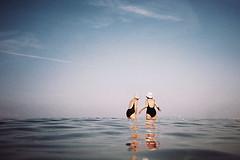 , (Benedetta Falugi) Tags: analog film pellicola nikonl35awaf 35mm fuji 200iso sundaymorning benedettafalugi summer sea beach tuscany wwwbenedettafalugicom believeinfilm analogphotography