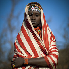 Miss Ana, veiled girl from Rendille tribe - Kenya (Eric Lafforgue) Tags: africa portrait people face beads veiled kenya culture tribal human tribes bead afrika tradition tribe ethnic tribo gens visage afrique ethnology tribu eastafrica beadednecklace veiledwoman qunia 5381 lafforgue ethnie rendille ethny rendile  qunia    beadsnecklace kea femmevoilee    humainpersonne a