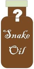 bottle of snake oil