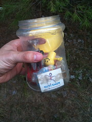 Our First Geo Cache FInd