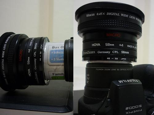 Soft modification on Fujifilm Finepix s1000fd