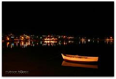 (Duru...) Tags: longexposure light sea reflection water night canon turkey boat trkiye su 1855mm deniz sandal gece yansma k duru balkesir kayk uzunpozlama ava 400d rukiyeta yiitlerky acizanenacizane