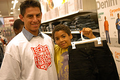 Photo credit: John Docter, Salvation Army USA West (Salvation Army USA West) Tags: kids shopping children kid child hollywood target thesalvationarmy shoppingspree