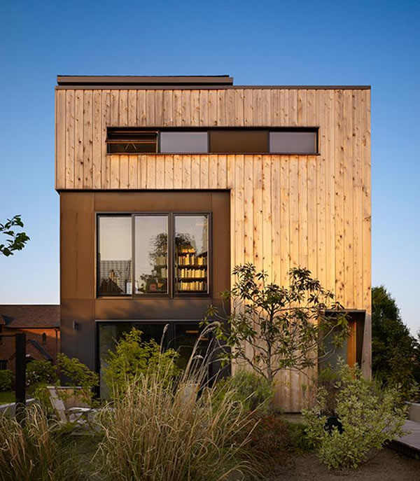 Residence in Portage Bay in Seattle