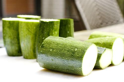 3 inch Zucchini stumps