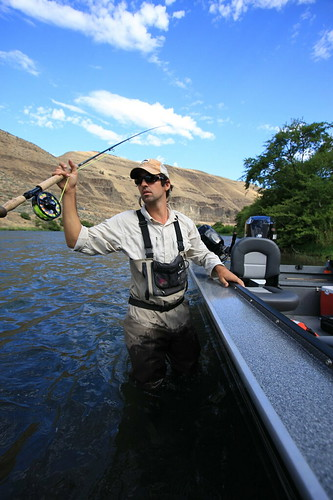 Jeff Hickman Deschutes Summer Steelhead