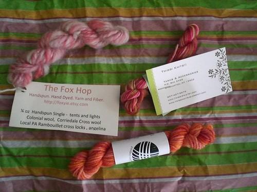 Phat Fiber August: Yarn