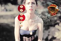 (Sofia Ajram) Tags: flowers roses portrait selfportrait girl vintage four kitten f14 4 stickers modestmouse nikond80 neverendingmathequation sofiaajram universeworksonamathequation
