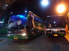 Farinas 2 and 32 at Laoag Terminal! =) (Api II =)) Tags: 2 bus long king terminal trans 82 laoag ssangyong farinas xmq6129y transstar