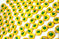 Green Bird Beads