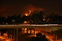 Station fire - Sat. nite