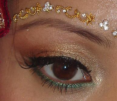 eye make up for bridal