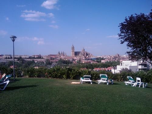 Salamanca desde el Parador