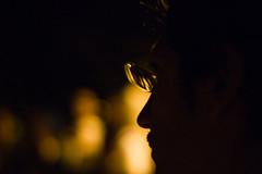 (Ciuri) Tags: blur backlight 50mm dof bokeh nikond70s margot f18 colori controluce iso1600 pdc occhiali esperimenti ciuri profilo cinquantino malriusciti  margheritacosta