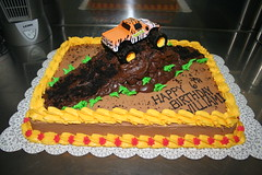 Monster Truck Mound Cake (Jens Creations) Tags: birthday cake usmc dirt happybirthday mound iwakuni monstertruck