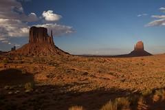 West & East Mitten 2 (jfew) Tags: arizona southwest butte desert az northernarizona monumentvalley mesa ef2470mmf28lusm mittens monumentvalleynavajotribalpark navajonation westmitten eastmitten