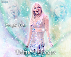 britney magic tour (BETHGON blends) Tags: luces tour princess spears pop britney bethgon