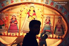 Avik (@k@sh) Tags: india canon square photography 350d 50mm sigma photoblog ritual tradition kola 1020 kolkata 2009 puja snan durga bou shashti judges ghat maddox avik akash bhattacharya