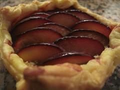 Mini plum galettes