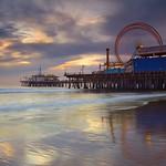 Santa Monica Spin #1 - Santa Monica Pier, California